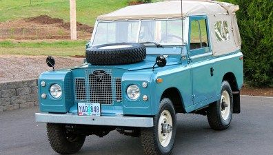 Spotted: Land Rover Series IIA 88 For Sale