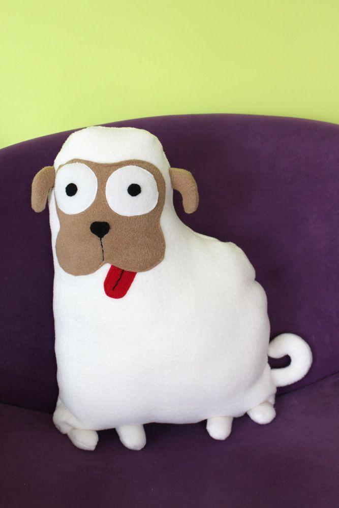 Cojín perro Pug Carlino – personalizable | Softie Life