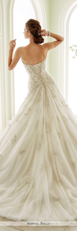best ideas about sophia tolli wedding gowns sophia tolli fall 2016 wedding gown collection style no y21670 venezia strapless tulle