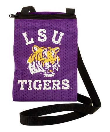 Take a look at this LSU Game Day Pouch by Little Earth on #zulily today!