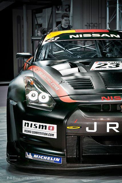Nissan GTR Nismo race ready
