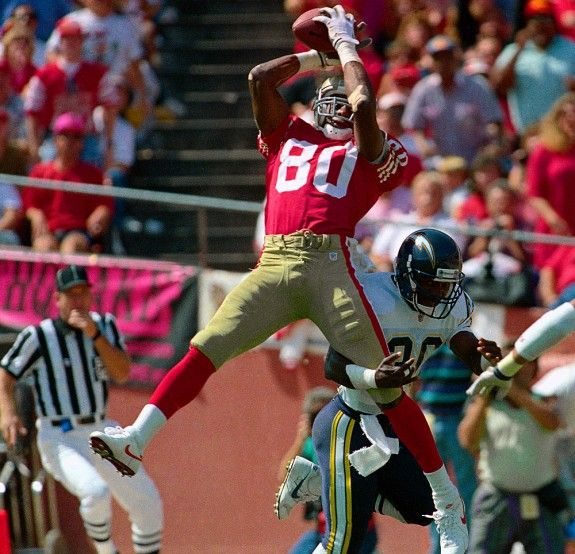 Jerry Rice: One of the greatest wide receivers of all time