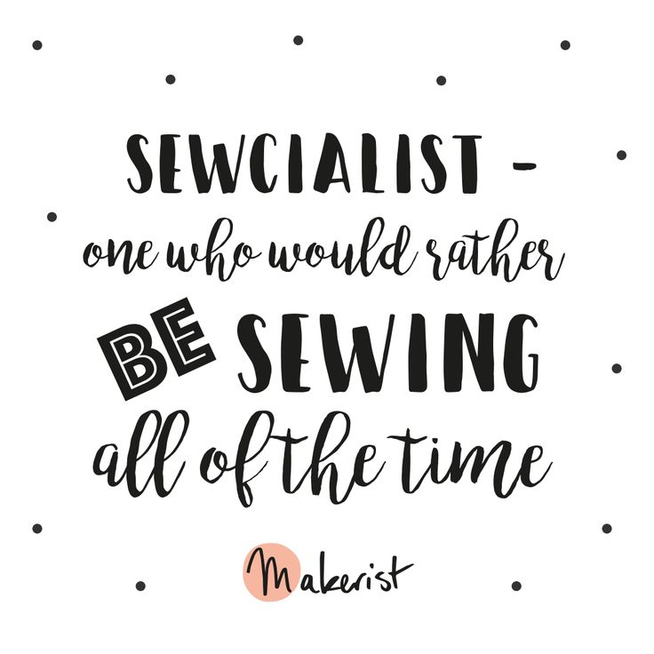 Love sewing?
