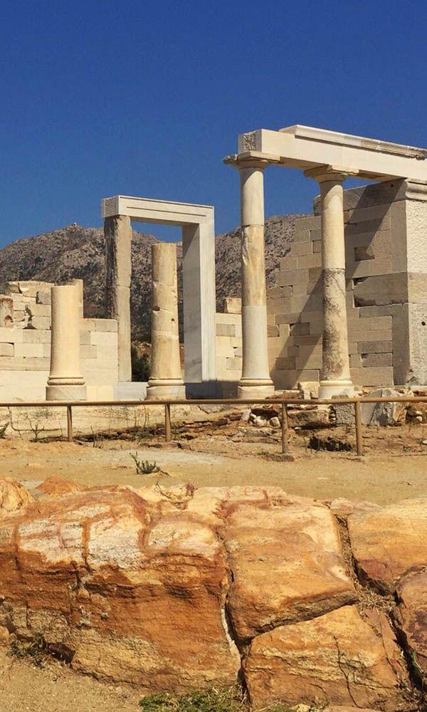 Naxos is perfect om tot rust te komen. Hoewel er op #Naxos ook meer dan genoeg te zien is. Zoals deze prachtige #ruines bijvoorbeeld. https://www.zomerzin.nl/bestemmingen/griekenland-reizen/bouwstenen/cycladen-eilanden/bijna-niks-doen-op-naxos/ #vakantie #Griekenland
