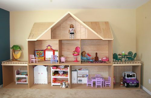 Pics For American Girl Doll House Plans