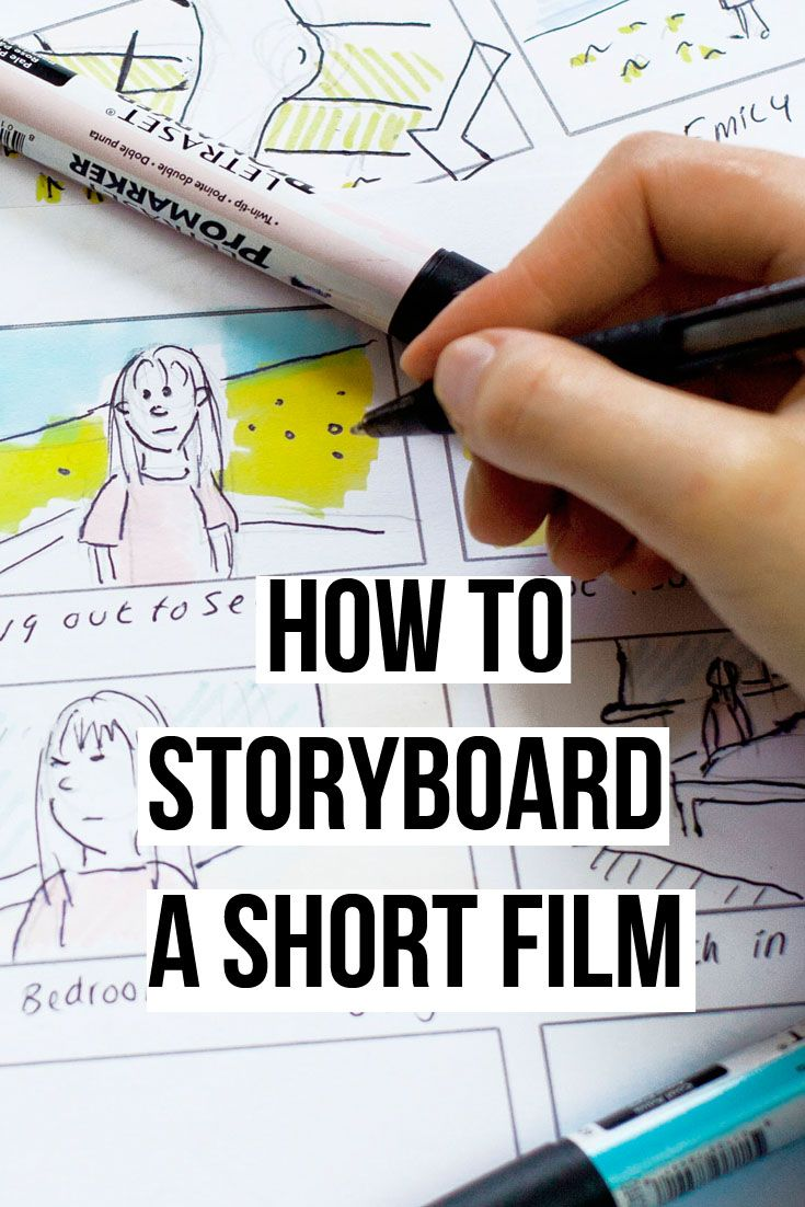 How to Storyboard a Short Film. Plus Free Template downloads to use on your own productions. filmmaking | filmmaking tips