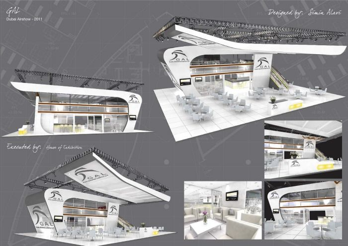 Exhibition Stand Designs by Simin Alavi at Coroflot.com