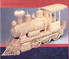 Western Loco Matchstick Modelo Tren Kit De Construcción-Matchmaker Nuevo