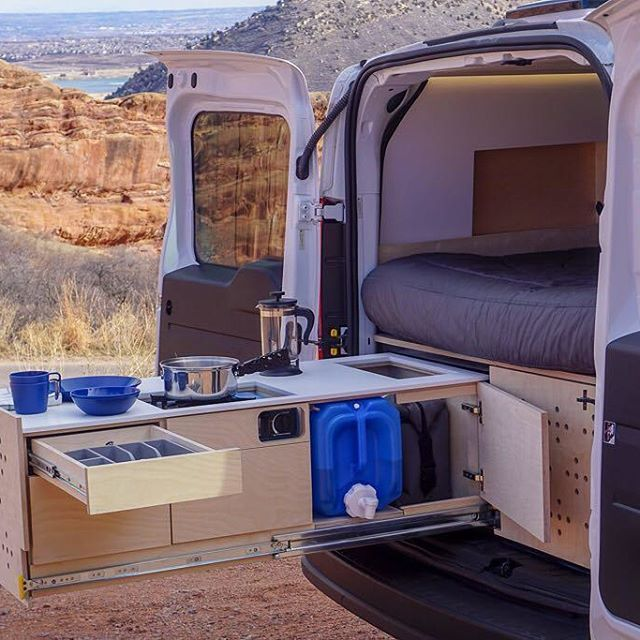 No Longer Limited To Only Cooking In Small Spaces Nativecampervans Car Camper Small Camper Vans Suv Camper