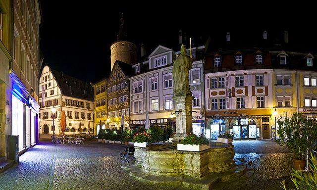 Pictures From Kitzingen Germany | ... Kiliansbrunnen en la Markplatz, Kitzingen (D) - a photo on Flickriver