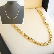 9ct Gold Bev DC Curb Chain - MM-BDC-0002