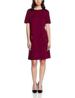 10, Purple (berry), Wallis Petite Women's Ponte Casual Dresses NEW