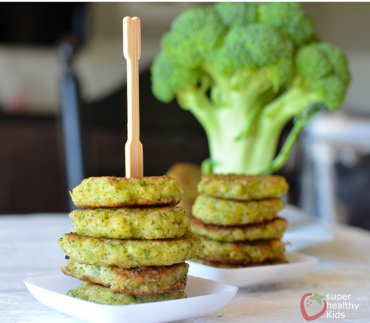 This snack is a great way to get your kids to eat broccoli! They are cheesy, delicious, and the perfect side to any meal! Serve it with chicken and rice.