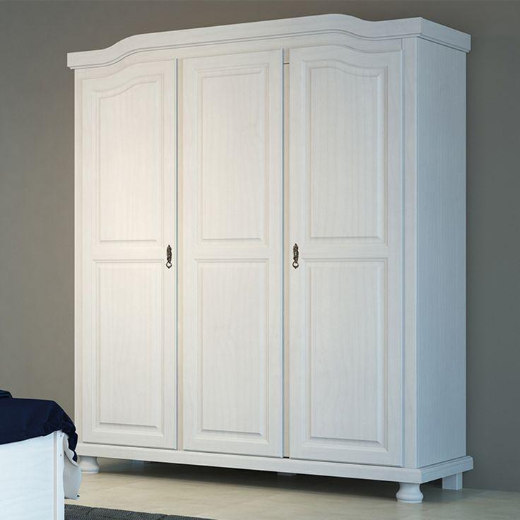 O estilo provençal é tendência na decoração devido seu formato clássico que proporciona ainda mais requinte e delicadeza no ambiente. Esse guarda-roupa é uma ótima opção para deixar o seu quarto ainda mais bonito.