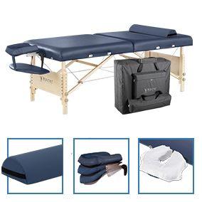"""30"""" Coronado LX Portable Massage Table Package"""