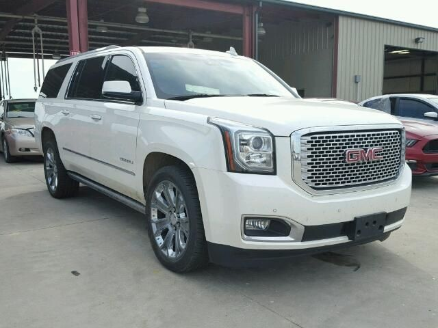2015 Gmc Yukon Denali Suv For Sale | Salvage Title