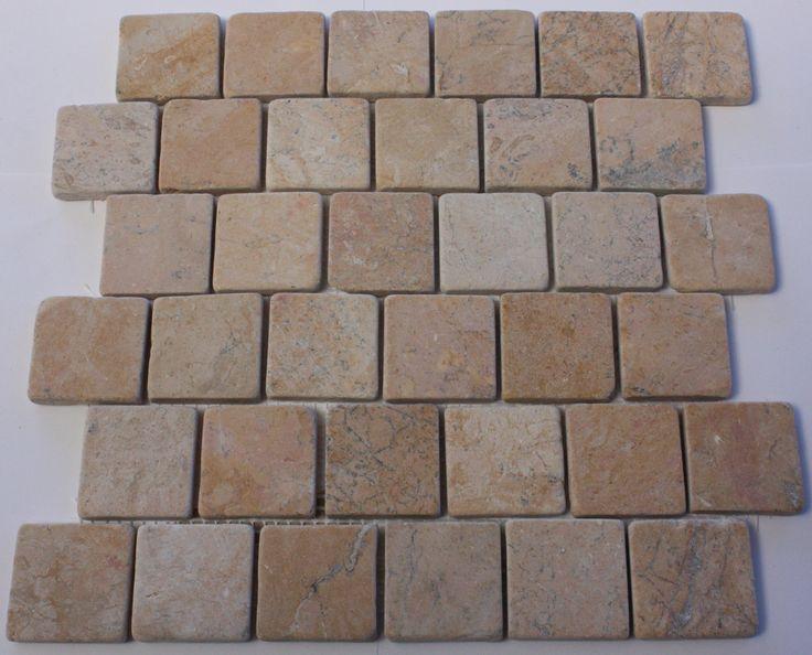 Parquet Brick Yellow Mosaic Tile