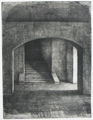 Omaggio a Tina Modotti, etching & drypoint