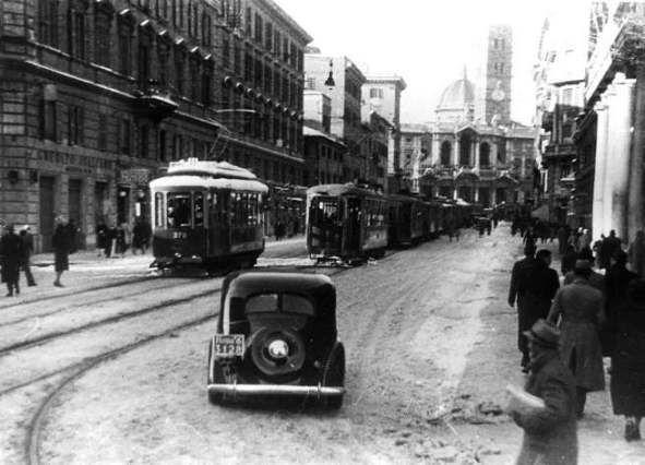 via Merulana nel 1933