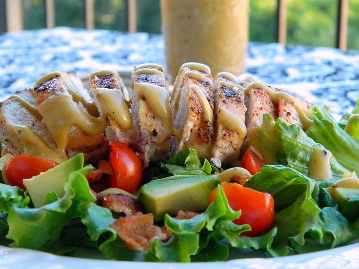 Salata de pui cu sos de mustar