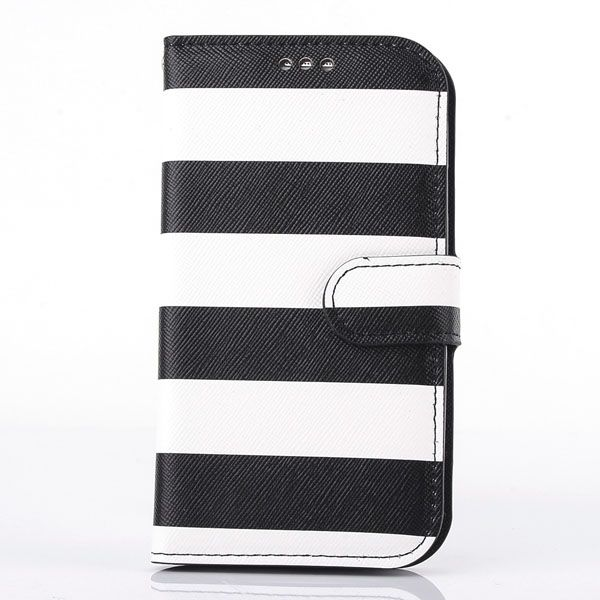 Rainbow PU Leather Protective Case For Samsung Galaxy S4 I9500