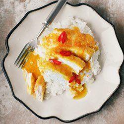 Filety z kurczaka w sosie pomarańczowo-imbirowym | Kwestia Smaku