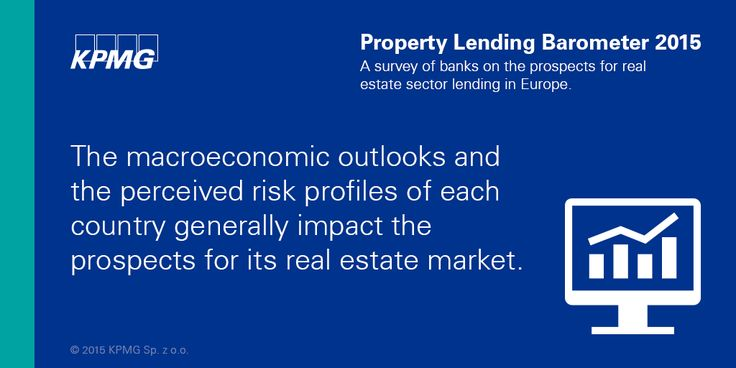 The macroeconomic outlooks and the perceived risk profiles of each country generally impact the prospects for its #realestate market.  #KPMG #Property #KPMGPoland