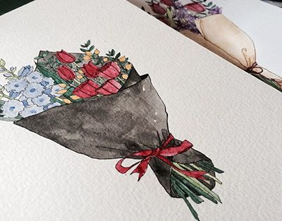 """Check out new work on my @Behance portfolio: """"WATERCOLOR ILLUSTRATION 02"""" http://be.net/gallery/49981303/WATERCOLOR-ILLUSTRATION-02"""