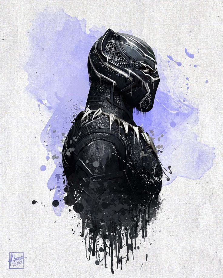 Black Panther Poster: 30+ Posters of Marvel's First Black Superhero