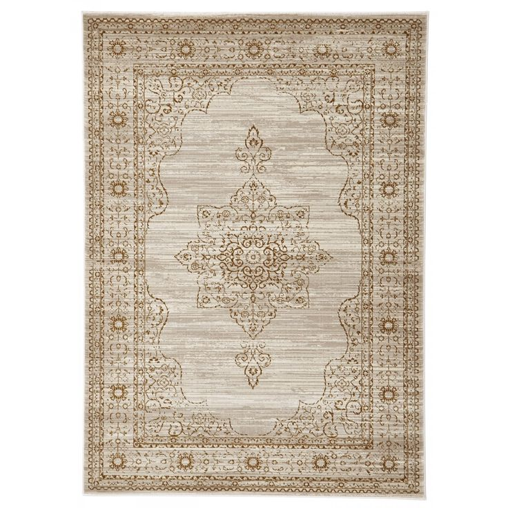 Bolu Delicate Traditional Style Beige Rug