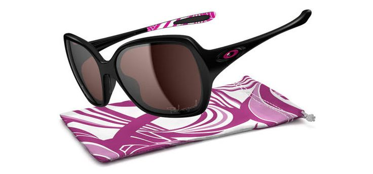 Oakley-Polished Black/OO Grey PolarizedOvertime Breast, Polar Lbd, Breast Cancer Awareness, Style, Awareness Editing, Polish Black, Oakley Sunglasses, Oakley Polar, Editing Sunglasses