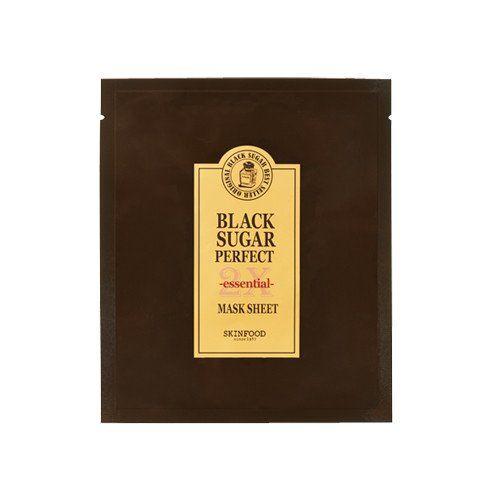[SKINFOOD] Black Sugar Perfect Mask Sheet 2X Essential (3PCS)