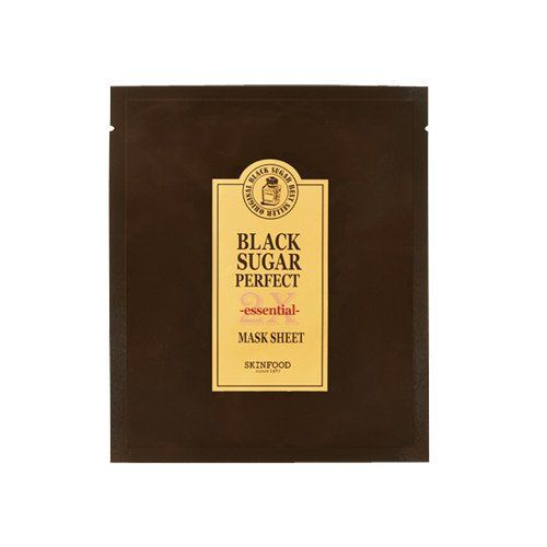 [SKINFOOD] Black Sugar Perfect Mask Sheet 2X Essential (3PCS)