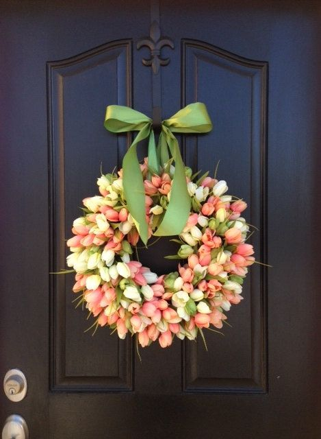Celebrate Spring | Tulips Spring Wreath