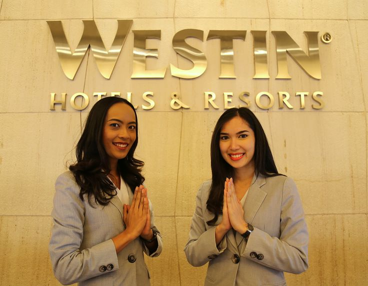 After a long and busy day, our guests will be welcomed by our friendly Front Office team. #westinbangkok