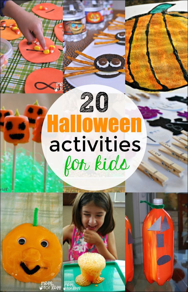 These Halloween activities are certain to keep your kids busy as they countdown…