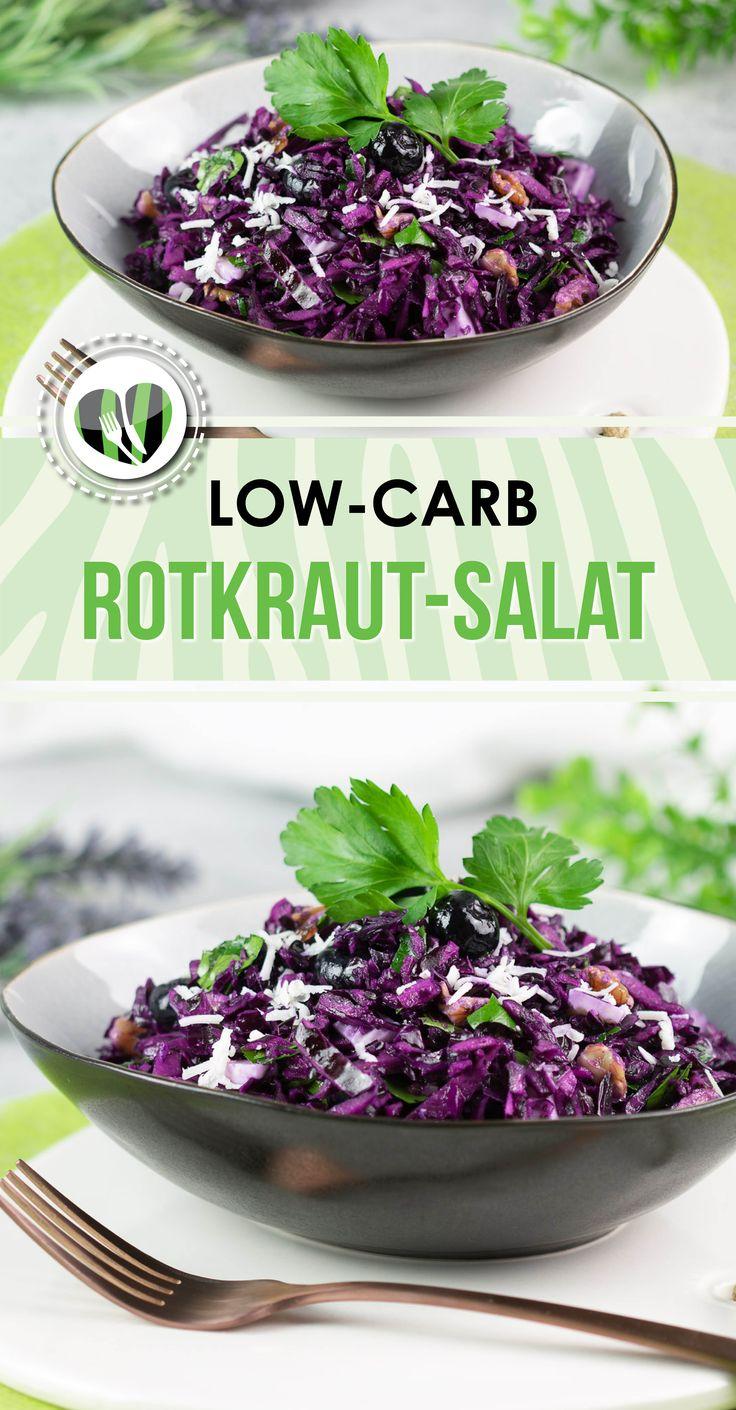 Rotkraut-Salat – Leckere Low Carb Rezepte – schwarzgrueneszebra