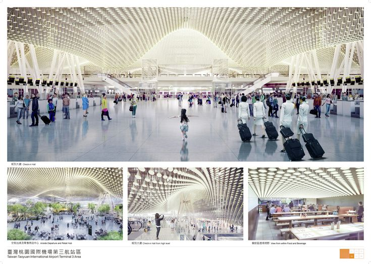 RSHP Wins Competition to Expand Taiwan's Largest Airport,© Taiwan Taoyuan International Airport