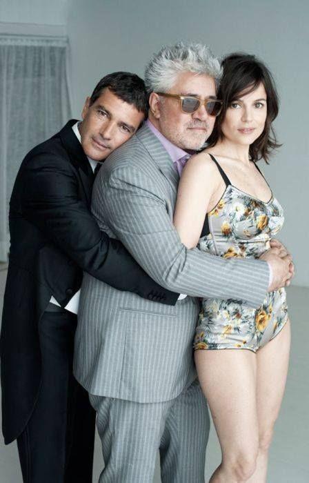 Antonio Banderas, Pedro Almodovar and Elena Anaya - The Skin I Live In (La piel que habito) - 2011