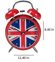 Union Jack Alarm Clock XL Large