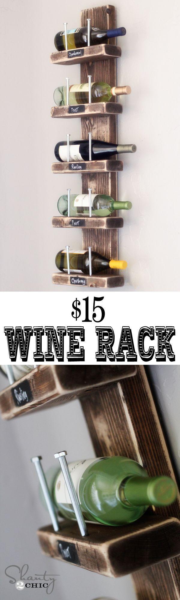Super cute Wine Rack