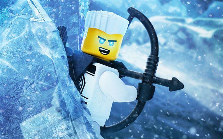 Télécharger fonds d'écran Le Lego Ninjago le Film, Zane, 2017 film, 3d-animation