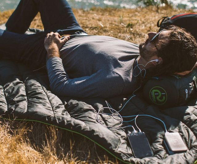 Battery-Powered Heated Blanket - http://tiwib.co/battery-powered-heated-blanket/ #Camping+Outdoors