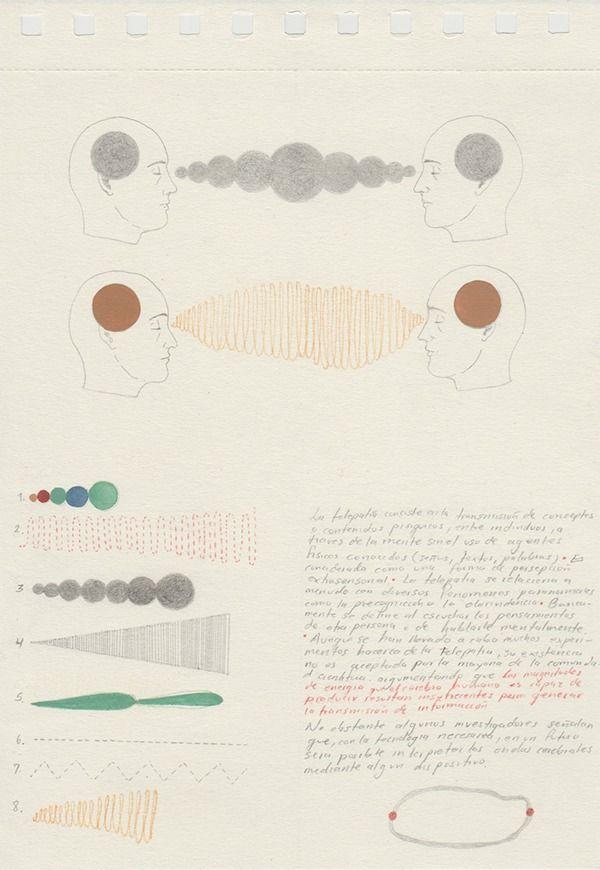 Dibujos 4 -Telepatías / Drawings 4 - Thelepathys on Behance