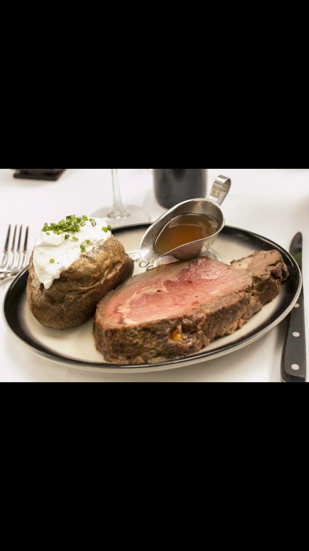 10oz Prime Rib w/ Baked Potato & Au Jus Marinade (The Top Steakhouse) Columbus, OH