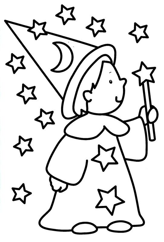 Coloriage 3 Ans Draw Color Coloring Pages Halloween