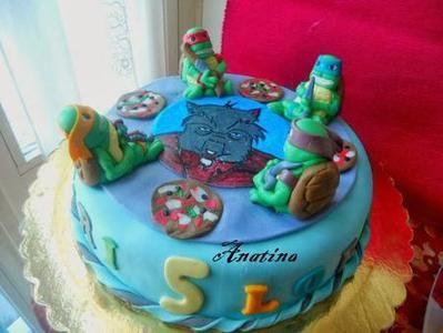 Torta Maestro Splinter Delle Tartarughe Ninja In Pdz cakepins.com