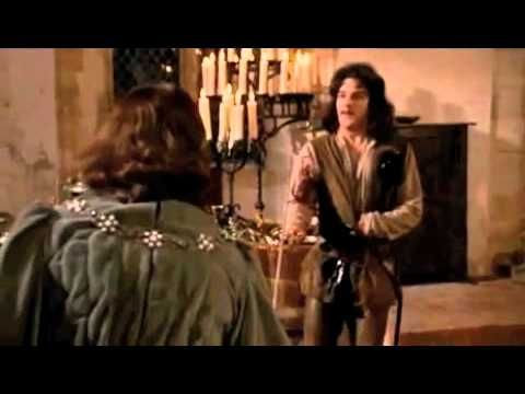 """Hello. My name is Inigo Montoya. You killed my father. Prepare to die."" ""Hola. Me llamo Íñigo Montoya. Tú mataste a mi padre. Prepárate a morir."""