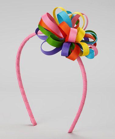 Loving this Rainbow Loop Bow Headband on #zulily! #zulilyfinds