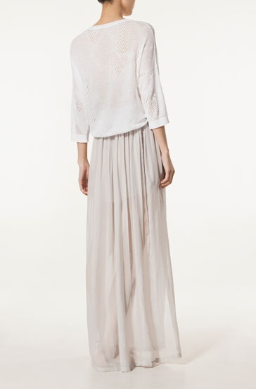 Falda larga - Massimo Dutti